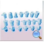 Vertical Quartz Crucible Dental Casting Device Low Thermal Expansion
