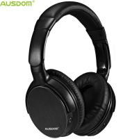 China Ausdom M06 Over Ear High Fidelity Detailed Wireless Sound Powerful Bass Durable Bluetooth Headphones With Microphone on sale