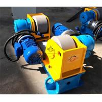 Full Steel Tube / Light Pole Welding Machine 3 Ton Conventional Welding Rotator Manufactures