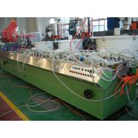 Alloy steel Wood Profile plastic extruder machinery 180 - 450kg / h Manufactures