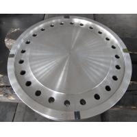 Forged Disc Tube Sheet Finish Machined For Heat Exchanger , Stainless Steel Brake Discs Manufactures