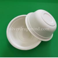Biodegradable Disposable Sugarcane Pulp Paper Bowl, Food Grade, 500ml Manufactures