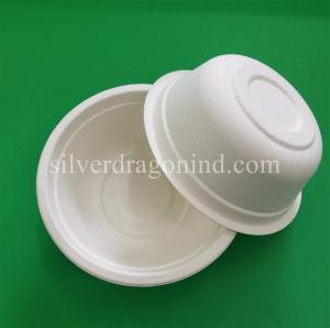 Biodegradable Disposable Sugarcane Pulp Paper Bowl, Food Grade, 500ml Manufactures