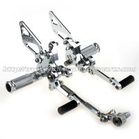 Durable Adjustable Ducati 1098 Rear Sets Aggressive Rider Position Manufactures