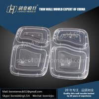 two compartment lunch lid mould Manufactures