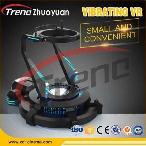 China AC 220V 9D VR Simulator Platform Arcade Machine For Vibrating VR Simulator Science on sale