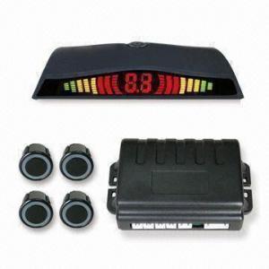 China Auto Parking Sensor with Digital LED Screen and 2 to 8 Ultrasonic Sensors, E-Mark Approval on sale