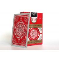Casino Playing Cards 310gsm German Black Core Paper Linen Finish Manufactures