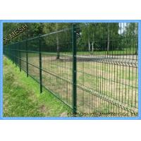 Perimeter Coated Welded Wire Fence Steel-P0006