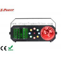 4 IN 1 Led Wash + Red Green Laser DMX Control Led Disco Lights For Night Club Manufactures