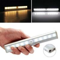 China Ultra Thin Mini Built-in Battery Rechargeable Motion Sensor LED Night Light with 3M Adhesive,Magnetic Strip,Screws for U on sale