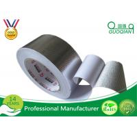 One Side High Temperature Aluminum Foil Tape With Silicone Coated Glassine Release Paper Manufactures