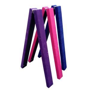Waterproof Outdoor Gymnastics Folding Balance Beam For Children PVC Material Manufactures