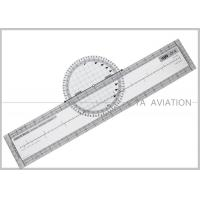 Quality Durable Lexan Plastic Rotating Flight Plotter for Flight School Students CP-R for sale