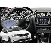 China Digital Skoda USB Android Car Interface Rapid Bluetooth With ADAS Lane Monitoring on sale