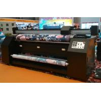 China 3.2m Width No Pinch Roller Fabric Inkjet Printer For Dye Sublimation Silk Cotton Polyester on sale