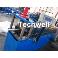 Hydraulic Cutting Metal Stud Roll Forming Machine For Roof Ceiling Batten Manufactures