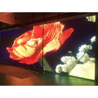 China High Resolution Led Video Wall Rental , Outdoor Super Slim Led Display P4.81 on sale