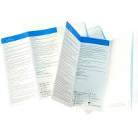 Quality Glossy varnishing, folding 157gsm C2S art paper Colour Flyer Printing service for sale