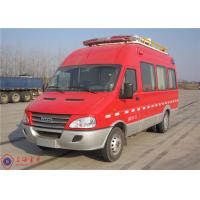 Seven Seats Fire Command Vehicles Rear Overhang 1680mm With Mounted Electric Generator Manufactures