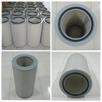 pleated Air dust filter cartridge for dust collector of steel grinding processing Manufactures
