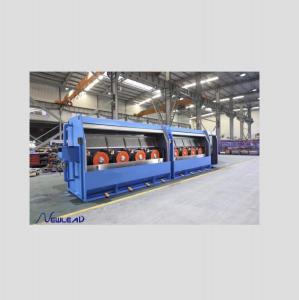 Double Spooler Annealing Copper 700kw Rod Breakdown Machine Manufactures
