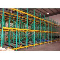 Buy cheap Heavy Load Dynamic Flow Pallet Rack Q235B Steel Storage Racking For Cold Supply from wholesalers