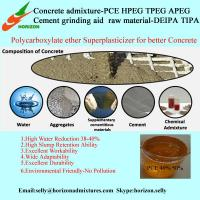 China Polycarboxylate water reducing admixtures, Chemical Admixtures for Concrete on sale