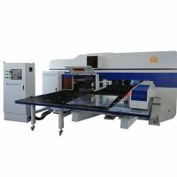 HR / SS Sheet Punch Mechanical Type CNC Turret Punching Press Machine Manufactures