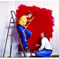 Quality Waterproofing Internal Emulsion Wall Paint Red Finish Coating Aldehyde In Semi for sale