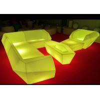 Multicolor Changing Led Light Up Furniture , Led Lighted Sofas Remote Control Manufactures