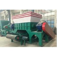 vertical wood pallet shredder HY1300 capacity 6 to 8 ton per hour Manufactures