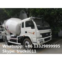 high quality and competitive price 3cbm Yuejin cement mixer truck for sale, factory sale best price small mixer truck Manufactures