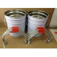 China High Tensile Galvanized Wire Bucket Handles / Handles For Buckets 20-25cm Size on sale