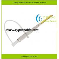 Quality DIN zirconia ferrule SM Fiber Optic Patch Cord ≤0.3dB IL, ≥50dB RL for sale