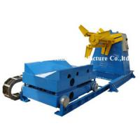 Quality Auto Single Unrolling Horizontal Coil Hydraulic Decoiler Machine With Pressing for sale