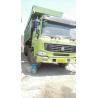 4x8 Drive Wheel Second Hand Dump Truck Howo Green Color Big Bucket Working Trucks Manufactures