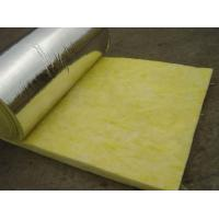 25 mm - 185 mm Thickness Glass Wool Blanket With Aluminum Foil Water Proof Manufactures