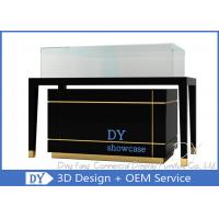 Luxury Nice Glass Jewelry Display Cases / Display Cases For Jewelry Manufactures