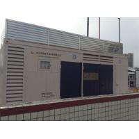 Full Air Cooling CNG Compressor , 1500Nm3 74KW CNG Filling Stations Manufactures