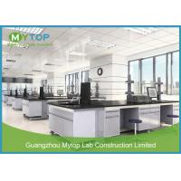 Modern Design Steel Science Lab Tables With Sinks And Ceramic Worktop Easy Clean Manufactures