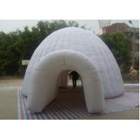 White Family Circular Diam Big Inflatable Party Dome Tent With LOGO Digital Printed Manufactures