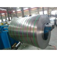 Q195 / SGCC Grade Galvanized Steel Strips High Zinc Coating Skin Passed with Zero Spangle Manufactures
