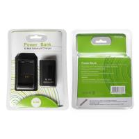 For Xbox 360 Rechargeable Battery Pack with Charging Dock 2 in 1 use Blac and White color Manufactures