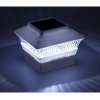 Quality 5 Ultra Bright LED Solar Post Cap Lamp Energy Saving White Color For Yard / Lawn for sale