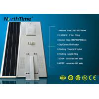 High Lumen Integrated Solar Street Light with Phone App Control System Manufactures