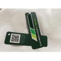 Eco Friendly Custom Clothing Hang Tags For Merchandise Specialized Shape Manufactures