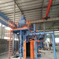 Hanging Chain Vertical Shot Blasting Machine For Liquefied Gas Cylinders Manufactures