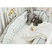 100% Cotton Cuddle Nest Baby Crib Bedding Sets Comfortable Color Customized Manufactures
