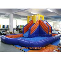 Home Jumping Kids Wet Giant Commercial Inflatable Slide / Water Slip And Slide Manufactures